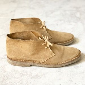 J. Crew Bennett Suede Casual Chukka Boots 10.5